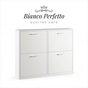 Quattro Ante · Bianco Perfetto