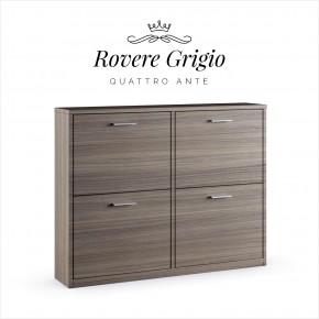Quattro Ante · Rovere Grigio